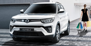 New SsangYong Tivoli from £14,495