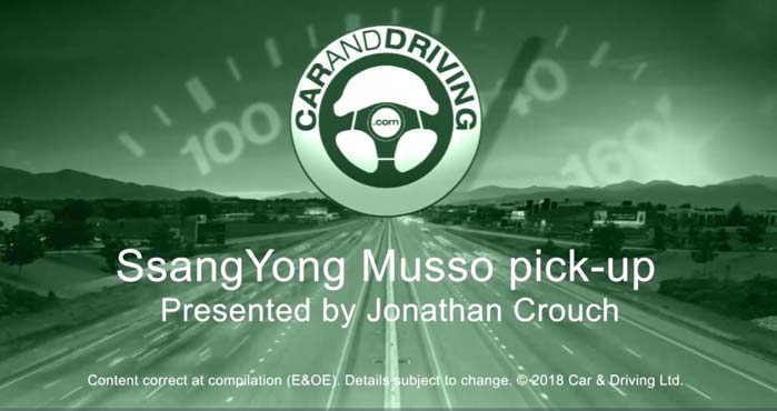 SsangYong Musso Features Video